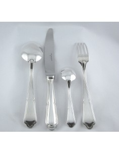 Set of 49 silverplated...