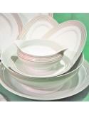 Service 16 assiettes VIVO UNI KIWI Porcelaine VILLEROY & BOCH