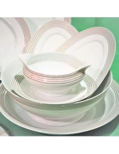 Service16 assiettes VIVO UNI KIWI Porcelaine VILLEROY & BOCH