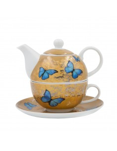 Lot de 1 pot couvert Porcelaine