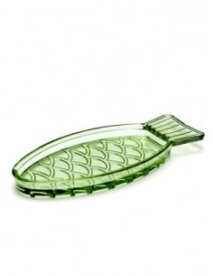 Small oval serving dish...