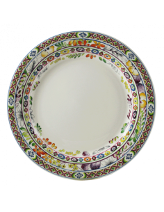 Set 4 dinner plates BAGATELLE GIEN