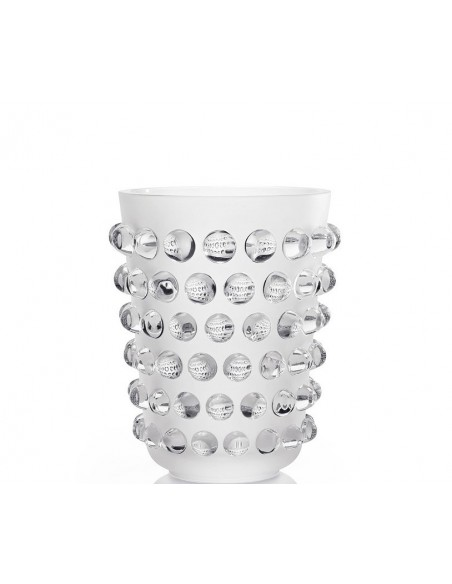 Crystal vase MOSSI LALIQUE