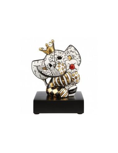 Elephant Figure GOLDEN SPRING BRITTO GOEBEL