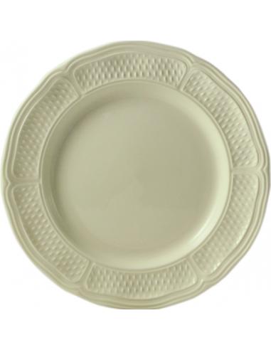 6 dessert plates PONT AUX CHOUX MAIS GIEN